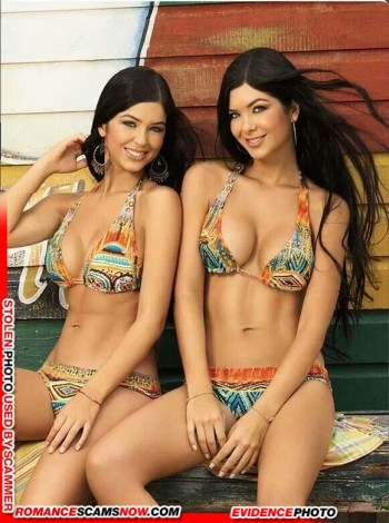 KNOW YOUR ENEMY: Mariana And Camila Davalos Twins - Favorites Of African Scammers 11