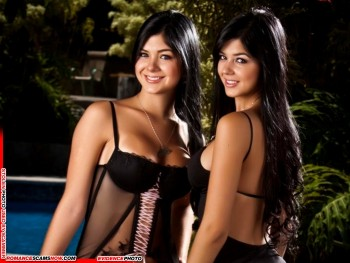 KNOW YOUR ENEMY: Mariana And Camila Davalos Twins - Favorites Of African Scammers 4