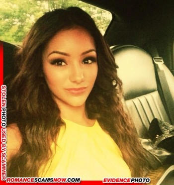 KNOW YOUR ENEMY: Melanie Iglesias - Another Favorite Of African Scammers 4