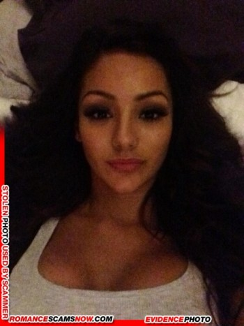 KNOW YOUR ENEMY: Melanie Iglesias - Another Favorite Of African Scammers 11