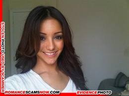 KNOW YOUR ENEMY: Melanie Iglesias - Another Favorite Of African Scammers 2