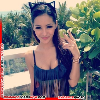 KNOW YOUR ENEMY: Melanie Iglesias - Another Favorite Of African Scammers 6