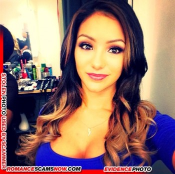 KNOW YOUR ENEMY: Melanie Iglesias - Another Favorite Of African Scammers 13