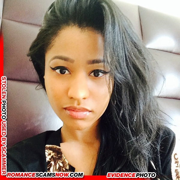 KNOW YOUR ENEMY: Nicki Minaj - Is A Favorite Of African Scammers 1