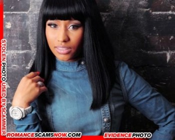 KNOW YOUR ENEMY: Nicki Minaj - Is A Favorite Of African Scammers 22