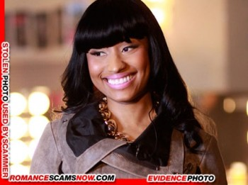 KNOW YOUR ENEMY: Nicki Minaj - Is A Favorite Of African Scammers 17