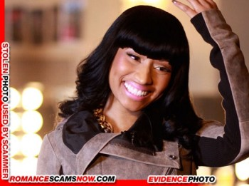 KNOW YOUR ENEMY: Nicki Minaj - Is A Favorite Of African Scammers 12