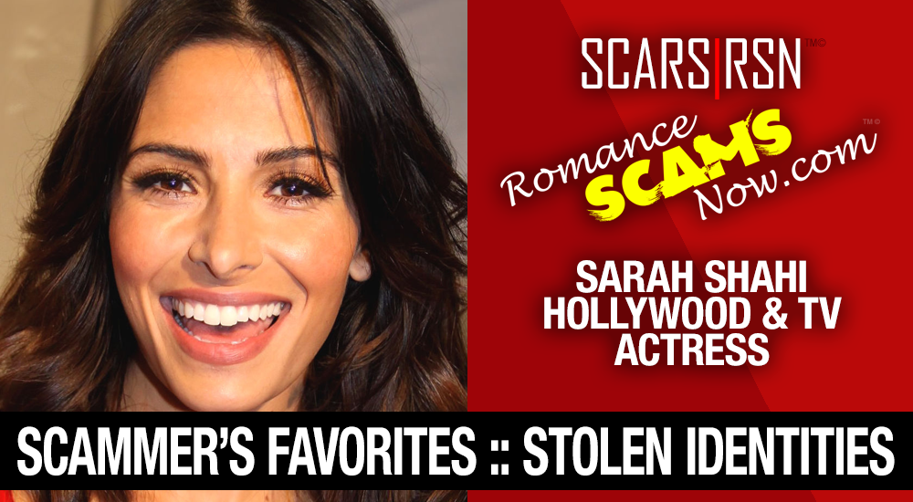 Sarah Shahi: Have You Seen Her? Another Stolen Face / Stolen Identity 2