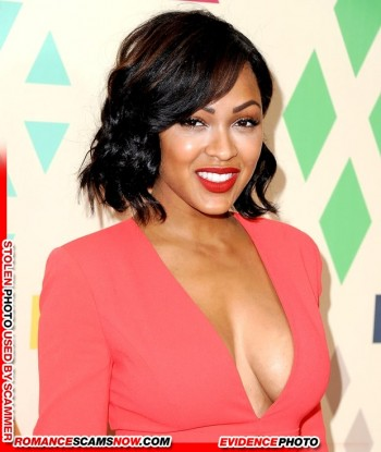 KNOW YOUR ENEMY: Meagan Good Is Another Favorite Of African Scammers 11