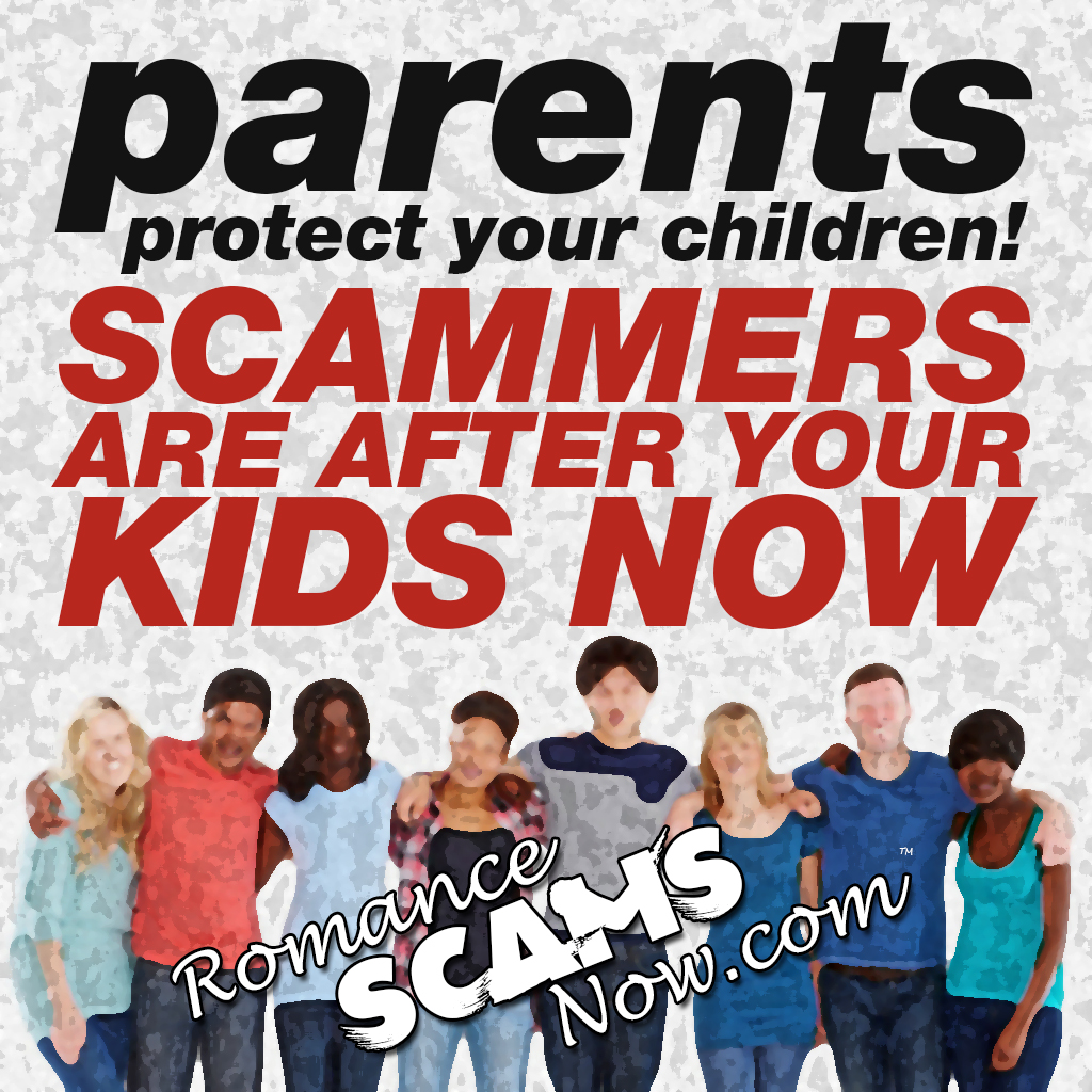 PARENTS - scammers are after your kids post