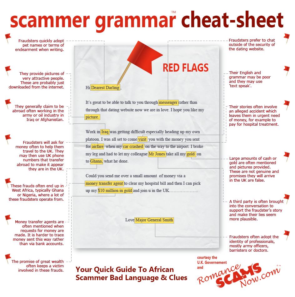 Scammar Grammer Infographic