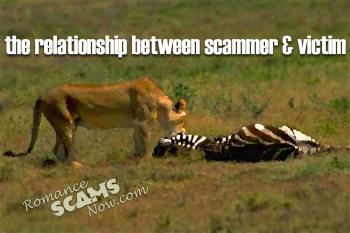 The Relationship Between Scammer & Victim