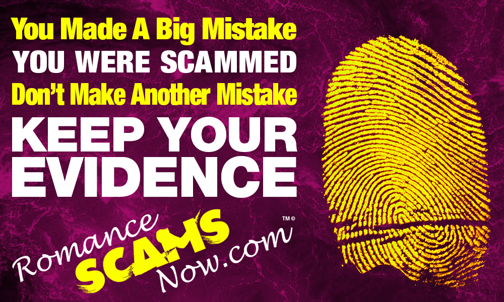 Keep Your Scam Evidence