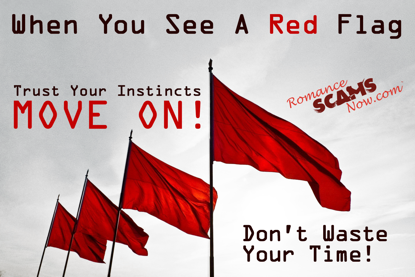 See A Red Flag And Move On! 6
