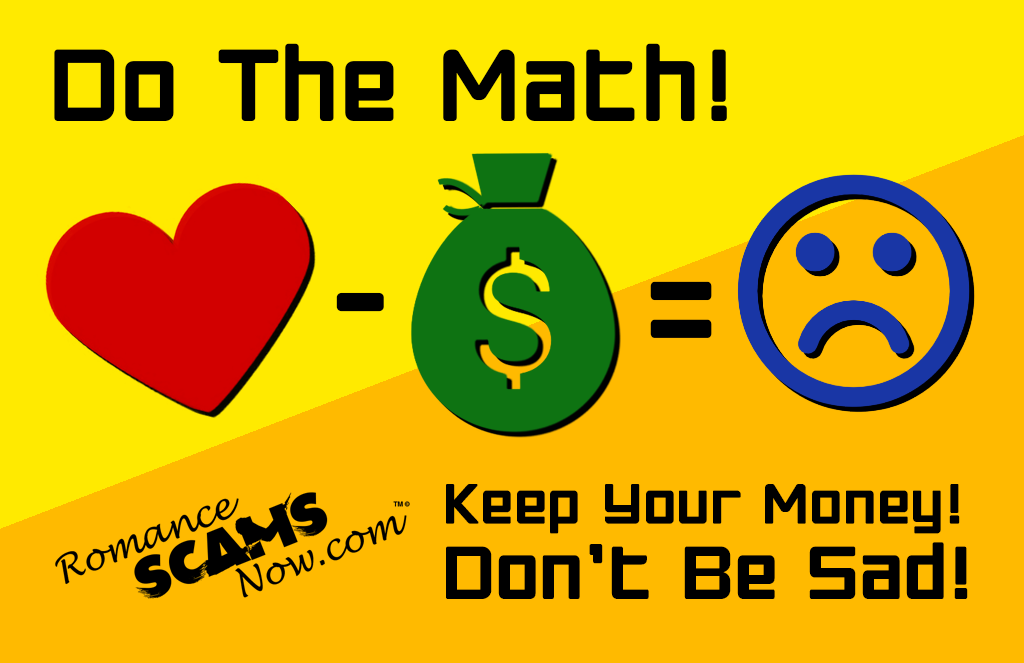 SCARS ™ / RSN™ Anti-Scam Poster: Don't Be Sad 129