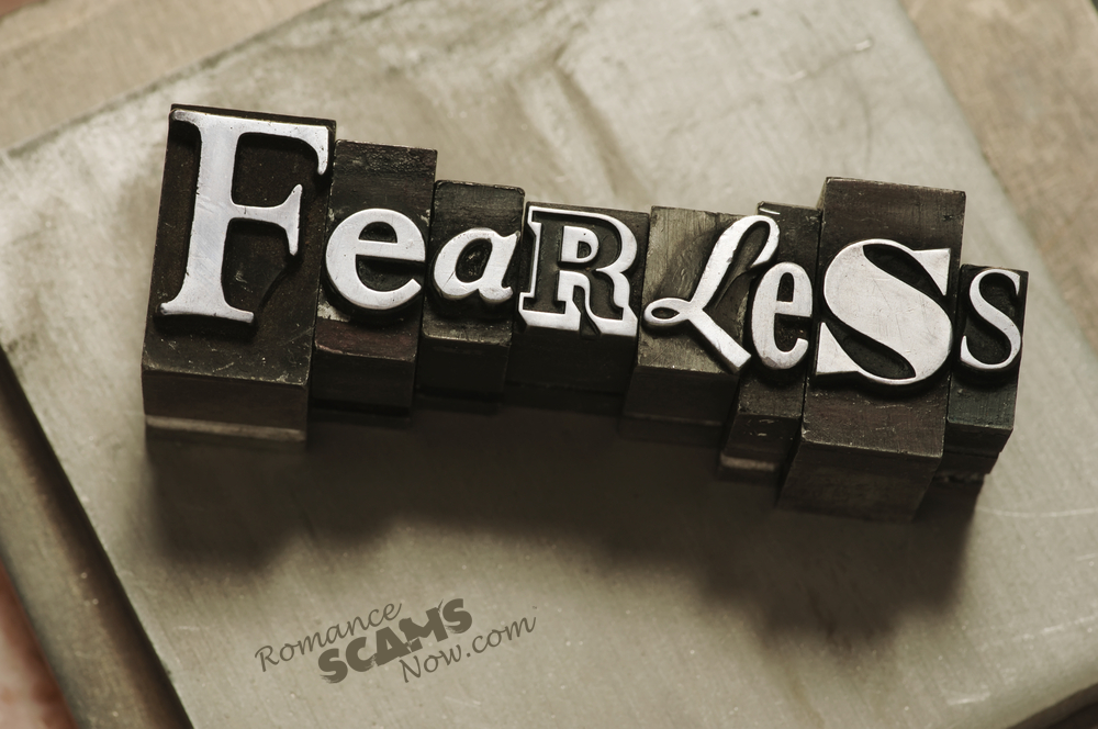 SCARS ™ / RSN™ Anti-Scam Poster: Fearless 132