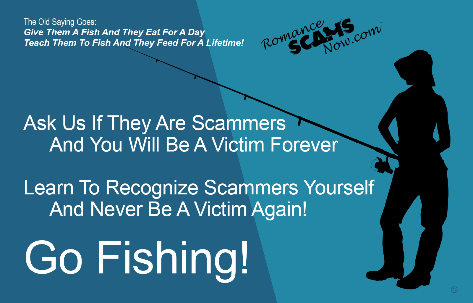 SCARS ™ / RSN™ Anti-Scam Poster: Fishing 134