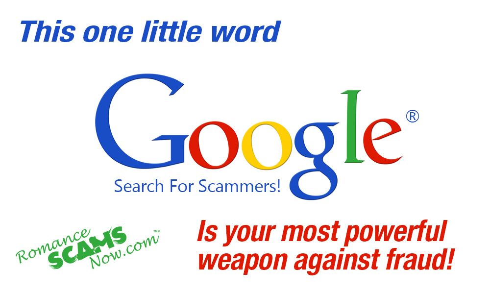 SCARS ™ / RSN™ Anti-Scam Poster: Google 140