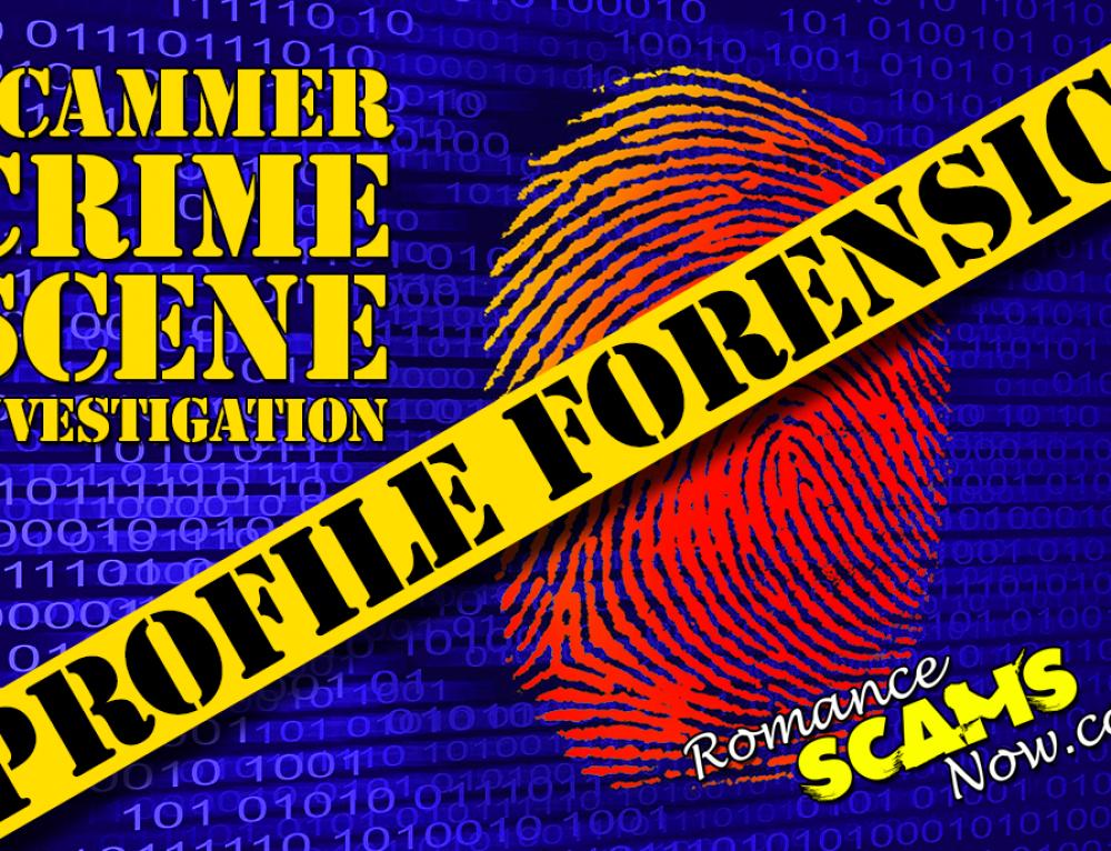 SCAMMER CRIME SCENE INVESTIGATION