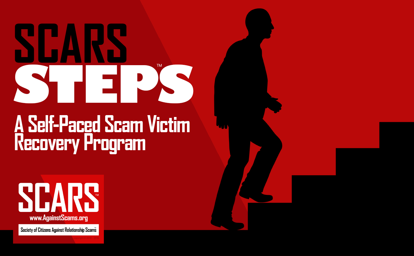 SCARS Steps™ - Scam Victim Free Self-Help Recovery Program 1