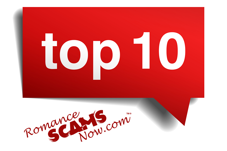 Romance Scams Now Top 10 List