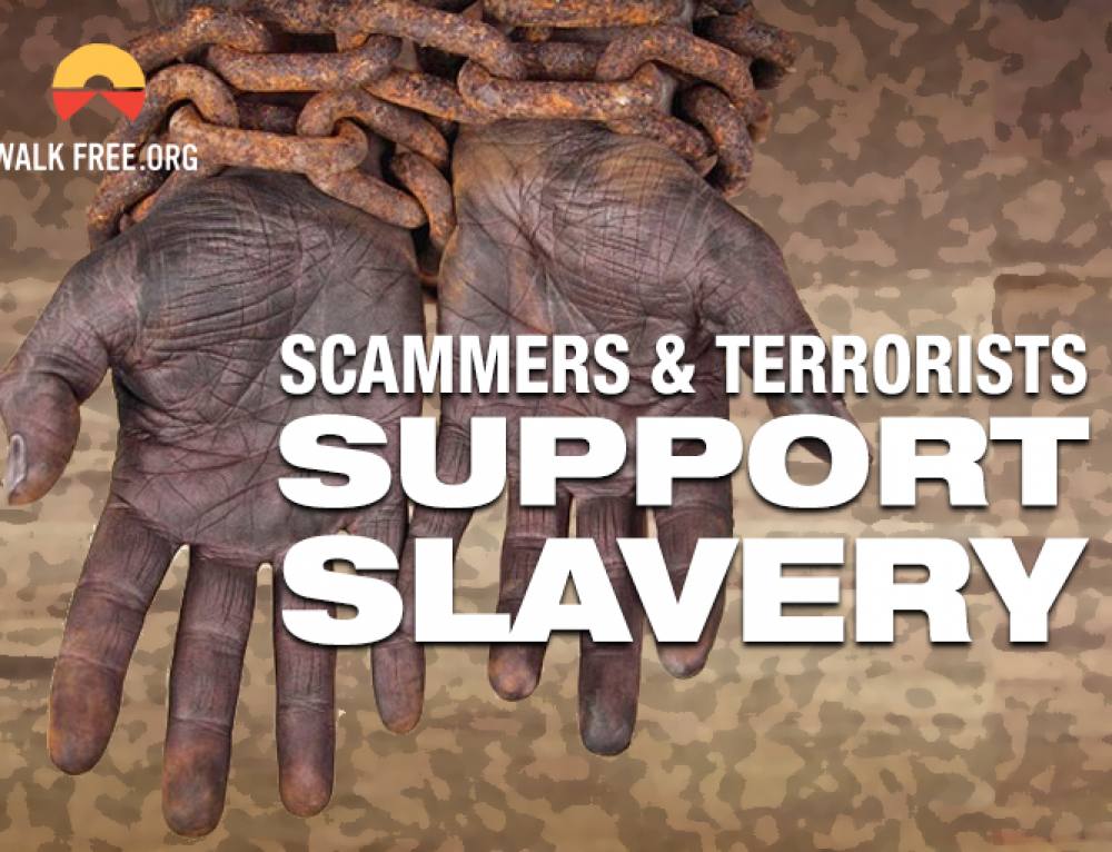 Scammers & Slavery