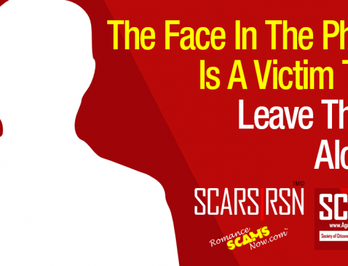SCARS|RSN™ Commentary: Impersonation Victims Blame Romance Scam Victims