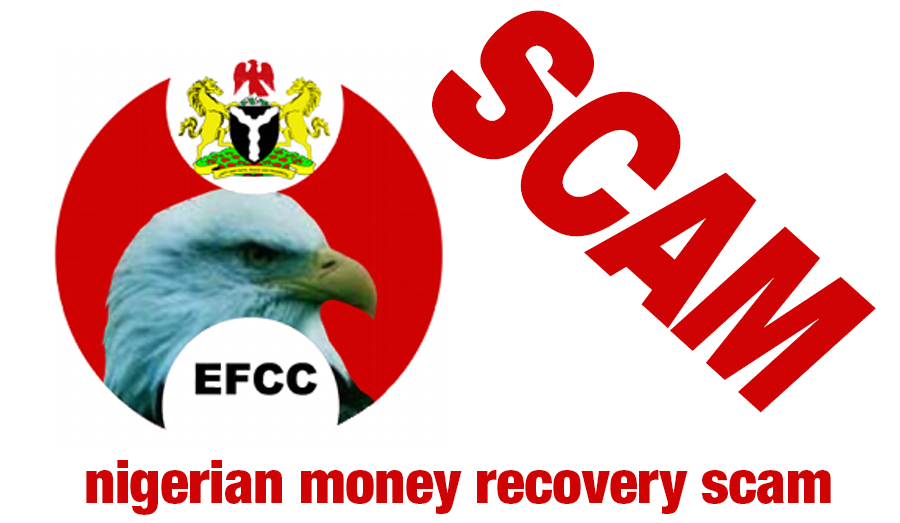 NIGERIAN EFCC SCAM - - - - - - - - - - - - - - - - - - There is a new scam going around that promises each victim from a Nigerian Scam US$300,000.00 Of course it is a SCAM!