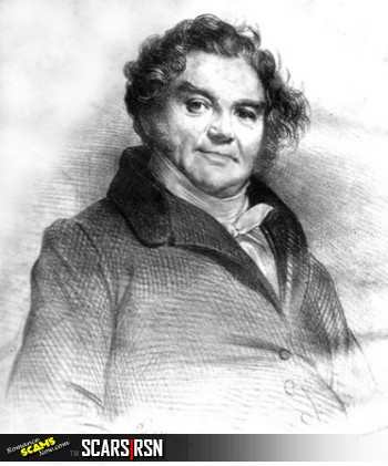 Eugène François Vidocq. Portrait by Achille Devéria.