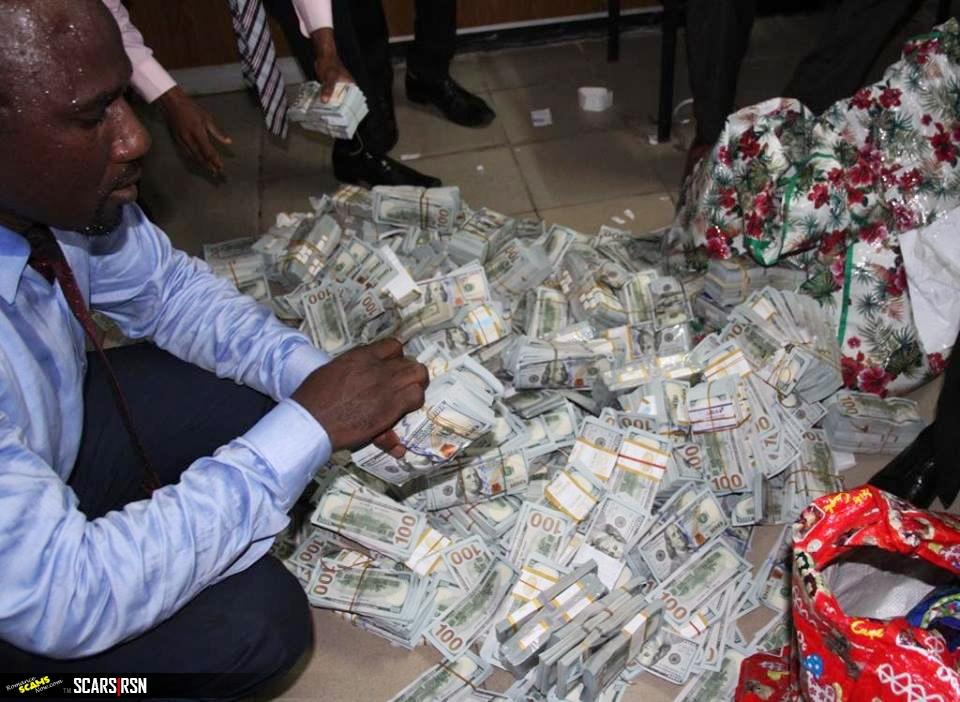 NIGERIAN SCAM MONEY