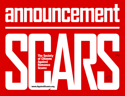 SCARS Announcement