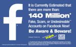 140-million Fake Profiles on Facebook