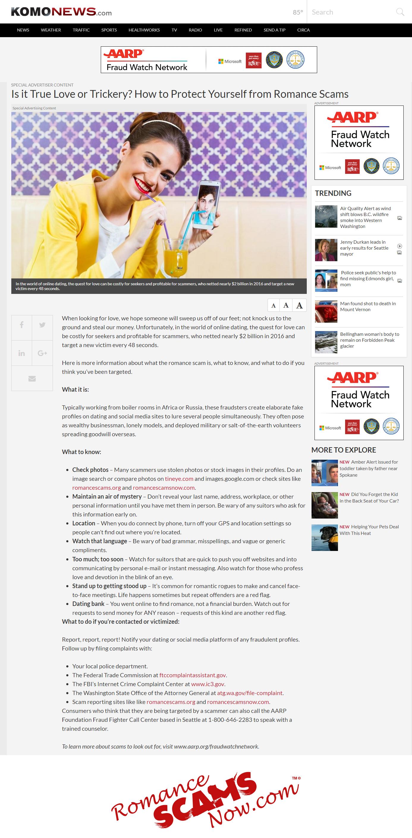 aarp Website