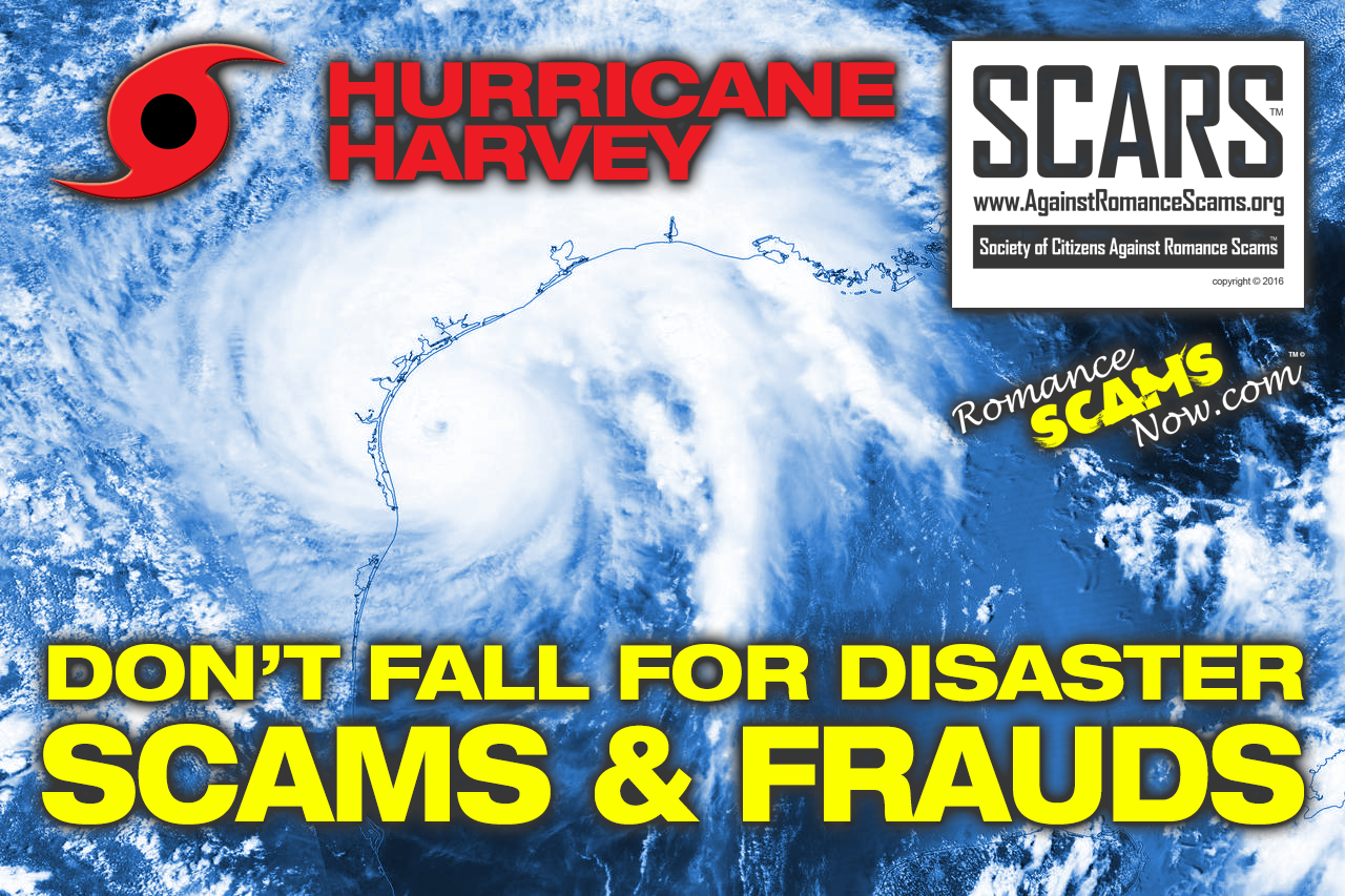 Don't Fall For Hurricane Harvey Disaster Scams & Frauds