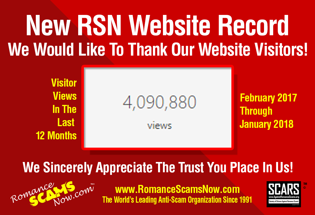New RSN Website Record
