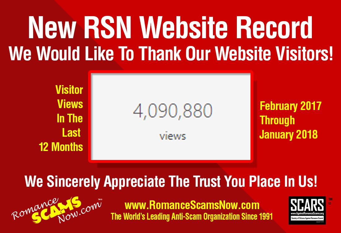New RSN Website Record