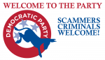 DEMOCRATIC PARTY - SCAMMERS WELCOME
