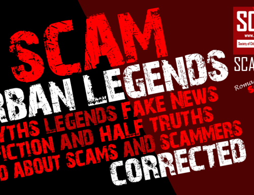 SCARS|EDUCATION™ Scammer Urban Legends – Chapter 1 –The Lone Scammer
