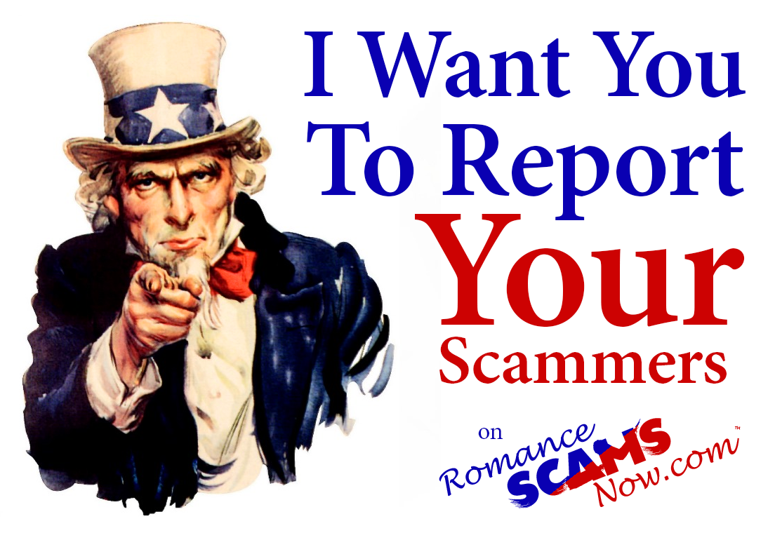 SCARS ™ / RSN™ Anti-Scam Poster: Report Scammers 1