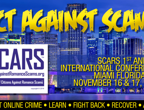 SCARS Announcement: SCARS First Annual Conference 2019