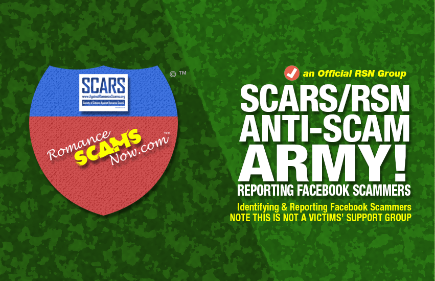 New RSN Group On Facebook: The SCARS™ / RSN™ Anti-Scam Army! 3