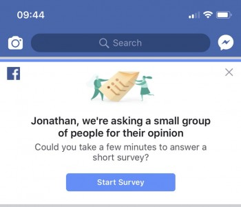Facebook Pedophile Survey