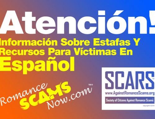 Información Sobre Estafas Y Recursos Para Víctimas En Español