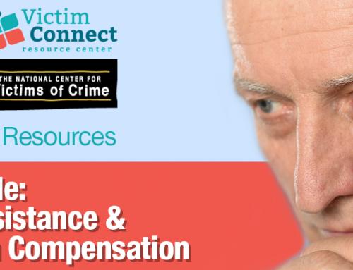 RSN™ Guide: Financial Assistance & Crime Victim Compensation