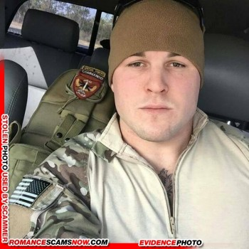 SCARS|RSN™ Scammer Gallery: Collection Of Stolen Soldier & Military