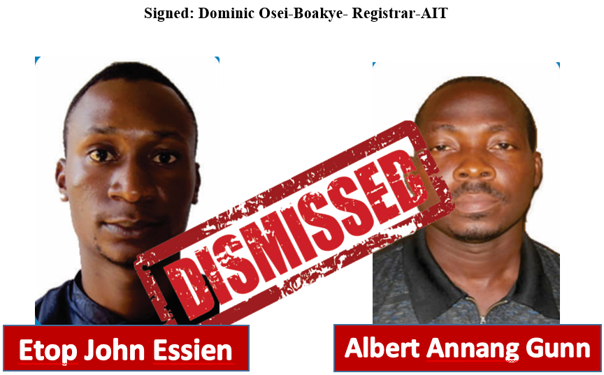 RSN™ Special Report: African Corruptions - Another University Co-oped By Scammers 1