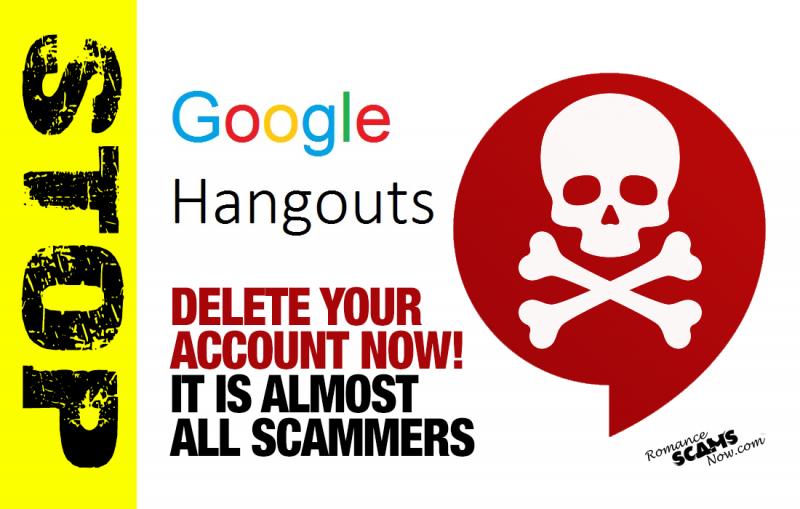 Delete Your Googler HANGOUTS Account Now!