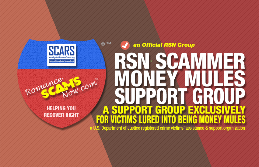 RSN™ Money Mule Scam Victims Support Group