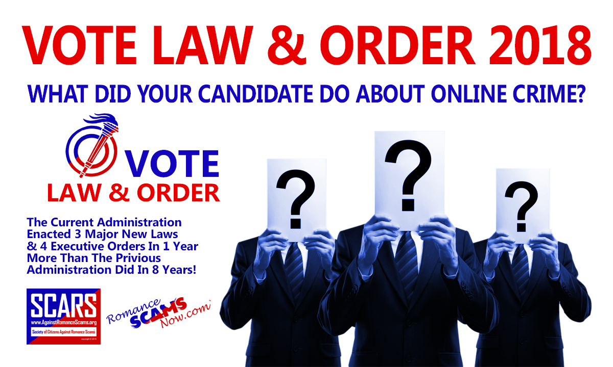 Vote Law & Order This Year Poster