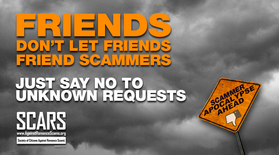 SCARS ™ / RSN™ Anti-Scam Poster 8